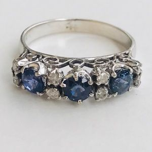 Jewelry - SOLD!! 14k sapphire ring ❤️ DO NOT PURCHASE.